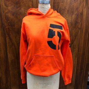 Die Antwoord orange hoodie Yo-Landi Ninja